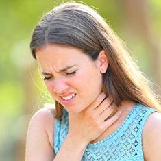 Throat Irritation