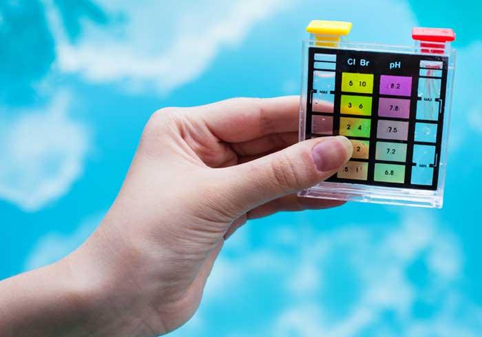 Complete Water Test, Balance & Adjust Sanitizer Level.