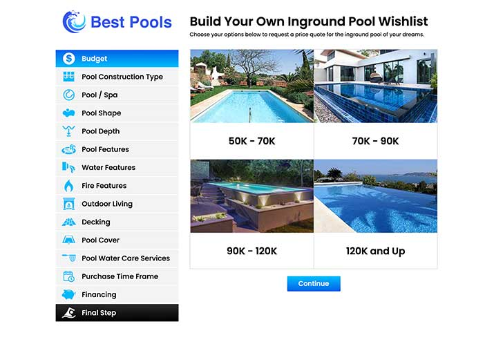 Inground Pool Wishlist
